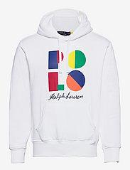 Polo Ralph Lauren - Logo Fleece Hoodie - hoodies - white - 0