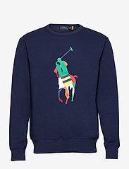 Big Pony Fleece Sweatshirt - NEWPORT NAVY