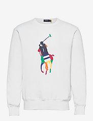 Polo Ralph Lauren - Big Pony Fleece Sweatshirt - tops - white - 0