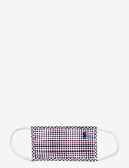 Polo Ralph Lauren - CTN YD POPLIN-MASK B - mundbind - raspberry multi - 0