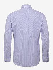 Polo Ralph Lauren - Slim Fit Striped Oxford Shirt - business shirts - 3155b blue/white - 1