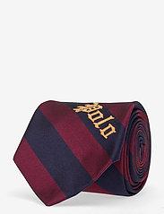 Polo Ralph Lauren - CLUB STRPE POLO-MADISON - ties - navy/wine - 0