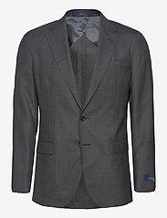 Polo Ralph Lauren - Polo Soft Traveler Sport Coat - enkelknäppta kavajer - medium grey - 0