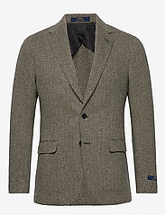 Polo Ralph Lauren - Soft Herringbone Sport Coat - enkelknäppta kavajer - black/cream - 0