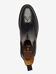Polo Ralph Lauren - Asher Wingtip Chelsea Boot - chelsea boots - black - 3