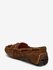 Polo Ralph Lauren - Anders Tasseled Suede Driver - shoes - chocolate brown - 2