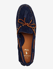 Polo Ralph Lauren - Anders Tasseled Suede Driver - shoes - navy - 3