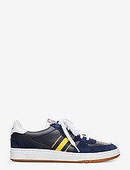 Polo Ralph Lauren - Court Leather Sneaker - low tops - newport navy/gold - 1
