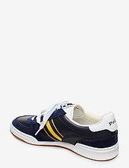 Polo Ralph Lauren - Court Leather Sneaker - low tops - newport navy/gold - 2