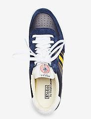 Polo Ralph Lauren - Court Leather Sneaker - low tops - newport navy/gold - 3