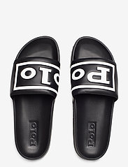 Polo Ralph Lauren - Cayson Polo Slide Sandal - pool-sandalen - black/white - 3