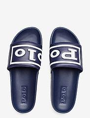 Polo Ralph Lauren - Cayson Polo Slide Sandal - pool sliders - newport navy/whit - 3