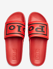 Polo Ralph Lauren - Cayson Polo Slide Sandal - pool sliders - red/black - 3