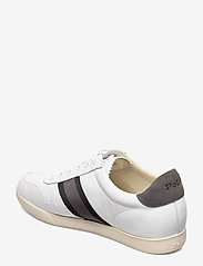 Polo Ralph Lauren - LEATHER/SUEDE-CAMILO II-SK-ATH - low tops - white/black/grey - 2