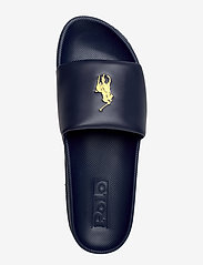 Polo Ralph Lauren - Cayson Pony Slide Sandal - pool sliders - newport navy/gold - 3