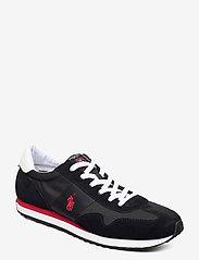 Polo Ralph Lauren - Train 85 Sneaker - low tops - black/rl2000 red - 0