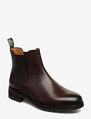 Bryson Leather Chelsea Boot - POLO BROWN
