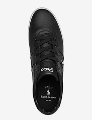 Polo Ralph Lauren - Hanford Leather Sneaker - låga sneakers - black - 3