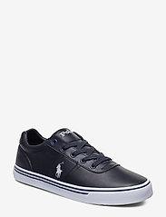 Hanford Leather Sneaker - NEWPORT NAVY