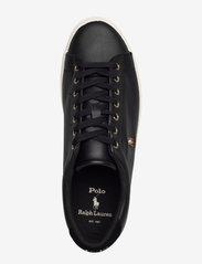 Polo Ralph Lauren - Longwood Leather Sneaker - low tops - black - 3