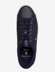 Polo Ralph Lauren - Longwood Leather Sneaker - low tops - newport navy - 3