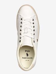 Polo Ralph Lauren - Longwood Leather Sneaker - low tops - white - 3