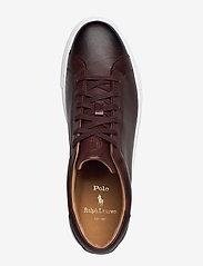 Polo Ralph Lauren - Jermain Leather Sneaker - low tops - polo brown - 3