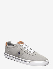 Polo Ralph Lauren - WASHED TWILL-HANFORD-NE - low tops - soft grey/navy pp - 0