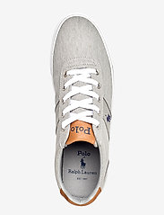 Polo Ralph Lauren - WASHED TWILL-HANFORD-NE - low tops - soft grey/navy pp - 3