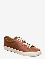Polo Ralph Lauren - Sayer Calfskin Sneaker - low tops - tan - 0