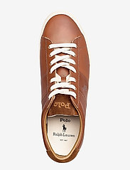 Polo Ralph Lauren - Sayer Calfskin Sneaker - low tops - tan - 3