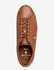 Polo Ralph Lauren - PERF ASHINA CALF-LONGWOOD-SK-VLC - low tops - tan - 3