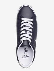 Polo Ralph Lauren - Longwood Leather Sneaker - low tops - hunter navy/white - 3