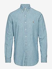 Polo Ralph Lauren - Classic Fit Denim Sport Shirt - denim shirts - medium wash - 0