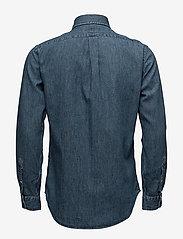 Polo Ralph Lauren - Slim Fit Chambray Shirt - farkkupaidat - dark wash - 2