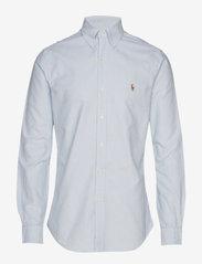 Slim Fit Oxford Shirt - BSR BLUE/WHITE