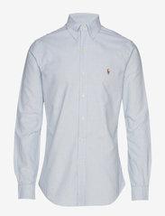 Slim Fit Oxford Shirt - BSR BLU/WHT