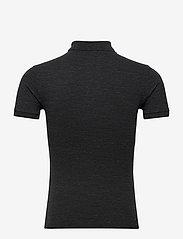 Polo Ralph Lauren - Slim Fit Mesh Polo Shirt - kortermede - black marl heathe - 1