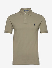 Slim Fit Mesh Polo Shirt - SAGE GREEN/C7998