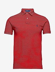 Polo Ralph Lauren - Slim Fit Mesh Polo Shirt - krótki rękaw - rl2000 red - 1
