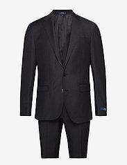 Polo Ralph Lauren - Polo Wool Twill Suit - Žaketes ar vienas pogas aizdari - charcoal - 0