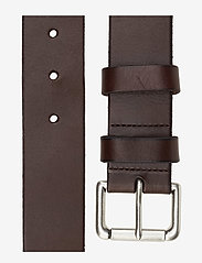 Polo Ralph Lauren - Calfskin Leather Belt - classic belts - brown - 1