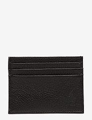 Polo Ralph Lauren - Pebble Leather Card Case - cardholder - black - 0
