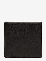 Polo Ralph Lauren - Leather Billfold Wallet - wallets - black - 0