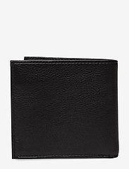 Polo Ralph Lauren - Coin-Pocket Leather Wallet - naudas maki - black - 1