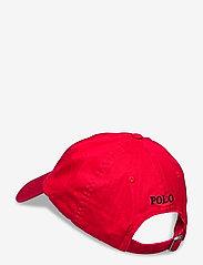 Polo Ralph Lauren - Cotton Chino Baseball Cap - kasketter - rl 2000 red/fb - 1
