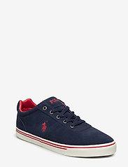 Polo Ralph Lauren - Hanford Suede Low-Top Sneaker - low tops - newport navy - 0