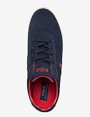 Polo Ralph Lauren - Hanford Suede Low-Top Sneaker - low tops - newport navy - 3