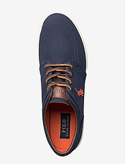 Polo Ralph Lauren - Faxon Low Canvas Sneaker - lave sneakers - navy - 3