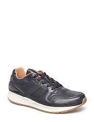 Train 100 Calfskin Sneaker - BLACK